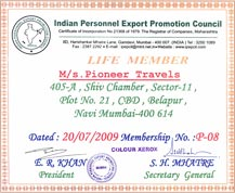 Pioneer Travels, Navi Mumbai